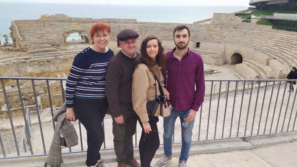 anfiteatro-romano-tarraco-tarragona-familia
