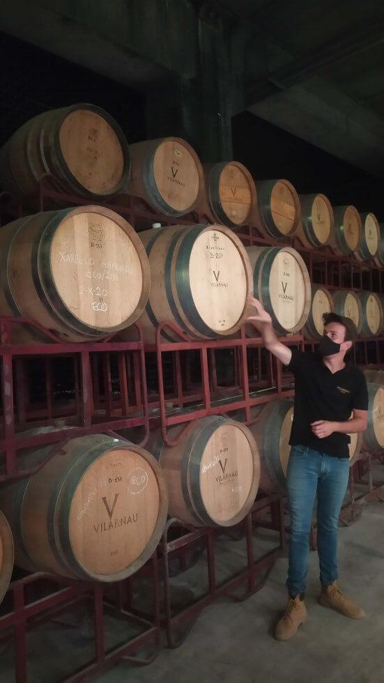 barricas-vino-vilarnau