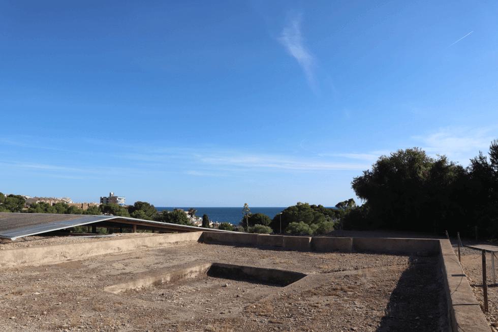 peristilo-vistas-mar-villa-romana