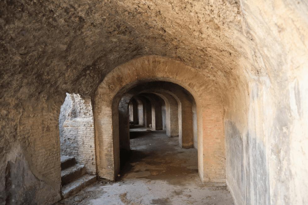 galerias-anfiteatro-ciudad-romana-de-pompeya