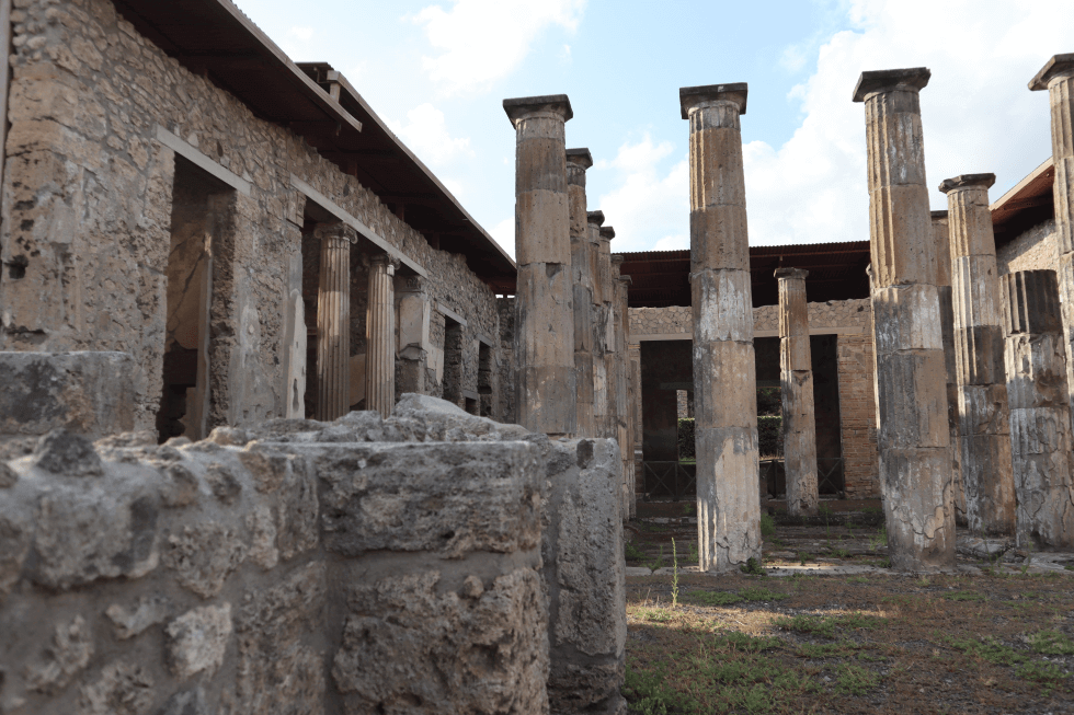 peristilo-domus-romana-pompeya